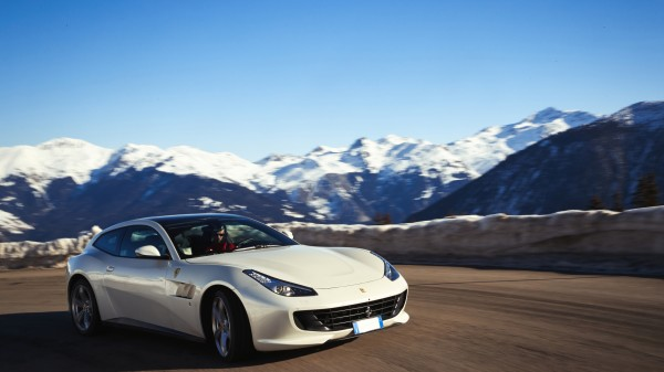 The GTC4 Lusso can be used in nearly all conditions