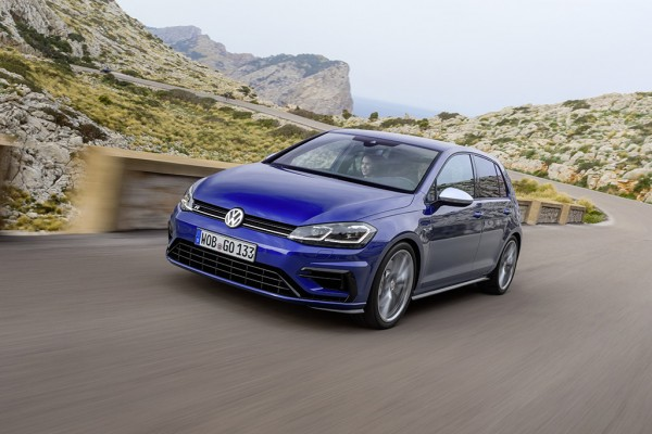The Golf R is hugely capable in all conditions