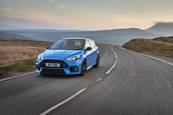 The Focus RS has rally-inspired technology