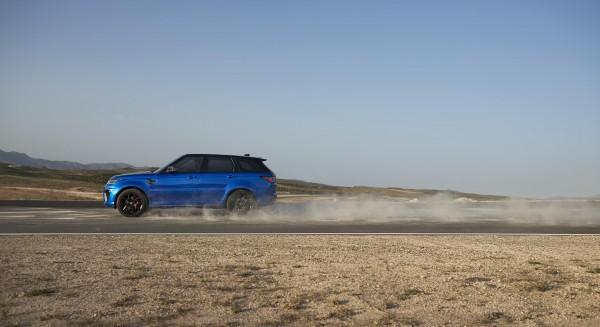 The Range Rover SVR has a lot of go-anywhere capability