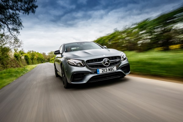 The E63S features all-wheel-drive technology