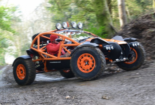 The Nomad provides a hugely involving driving experience
