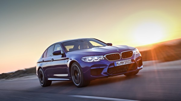 The new M5 now features all-wheel-drive