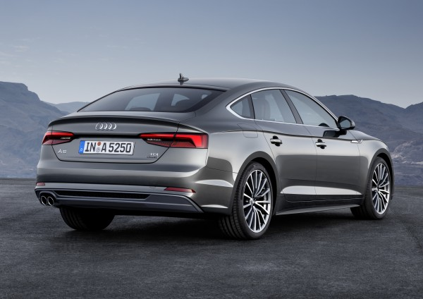 The A5 Sportback offers a usefully large boot