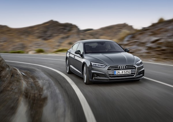 The A5 Sportback handles keenly