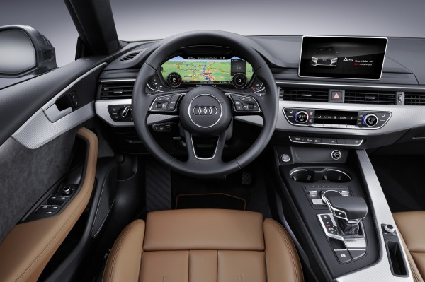 The A5 Sportback's interior is impressively well made