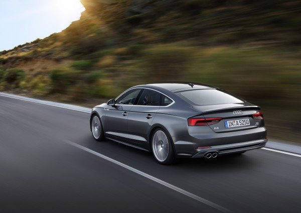 The A5 Sportback provides more practicality than the standard A5