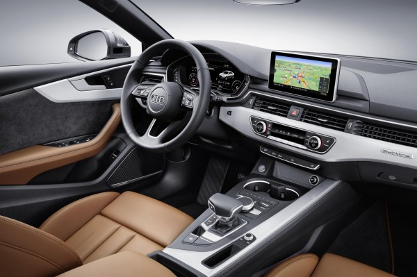 The A5 Sportback features a variety of high-quality materials