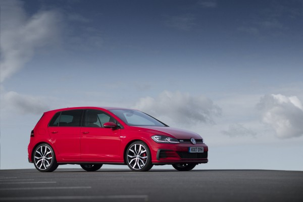 Large alloy wheels give the GTI plenty of visual appeal