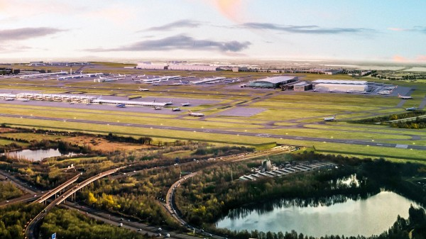 Heathrow could get a shorter raised runway with a tunnel underneath for the M25: New plans may also see terminals extended and cost £2.8bn less than first thought
