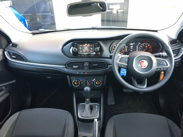 The Tipo features Fiat's latest infotainment system