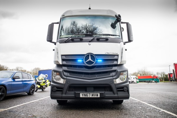 The police HGV costs £70,000