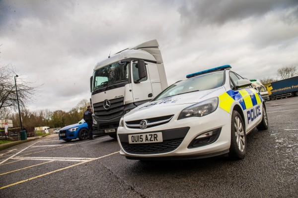 The HGV is proving useful at catching mobile phone-using drivers