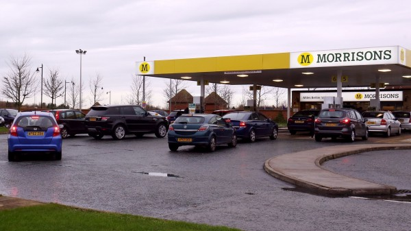 Morrisons is another that has lowered its price of fuel (PA)