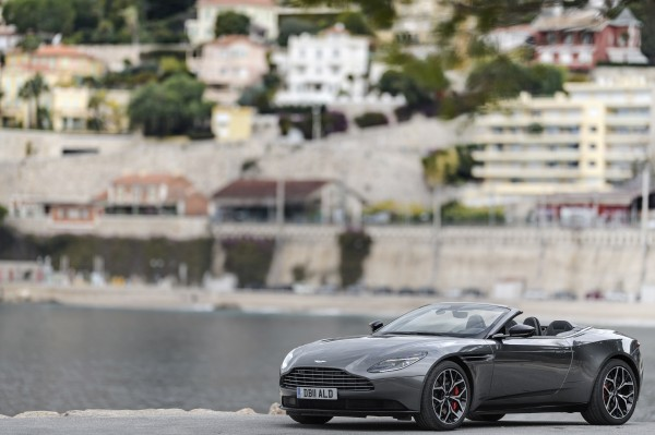The DB11 Volante's elegant looks will appeal to many