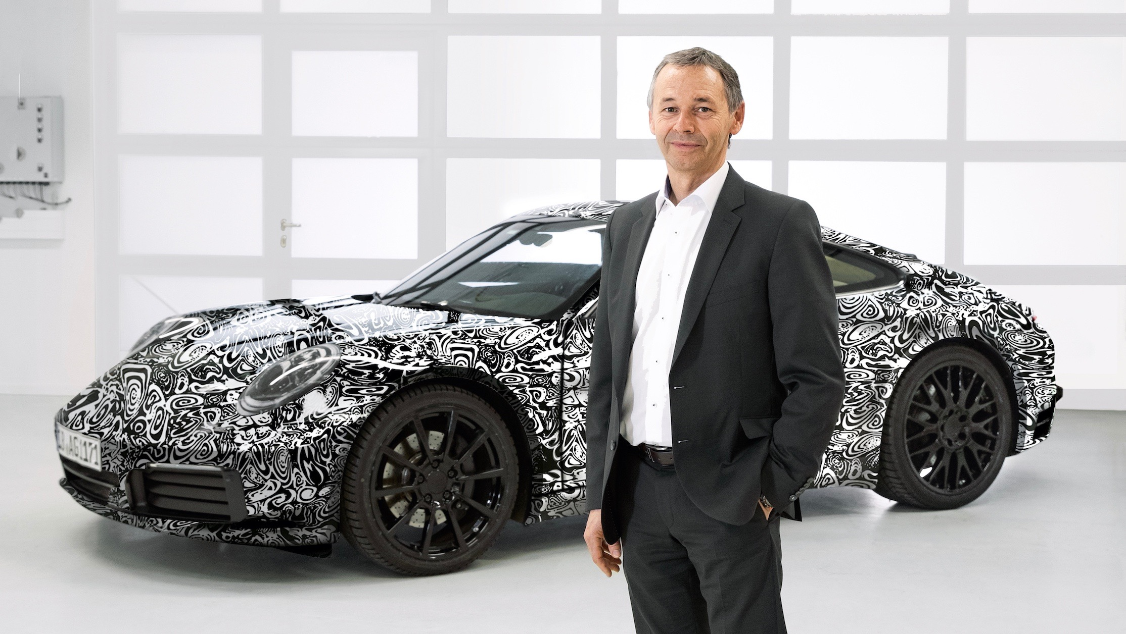 Porsche introduced its most powerful luxury vehicle with aspirated engine