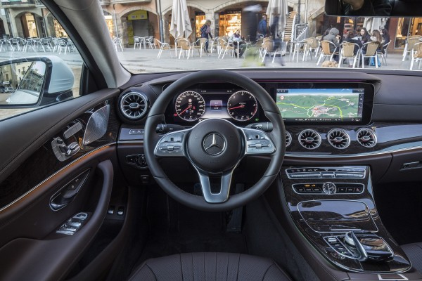 The interior is solid and well-built