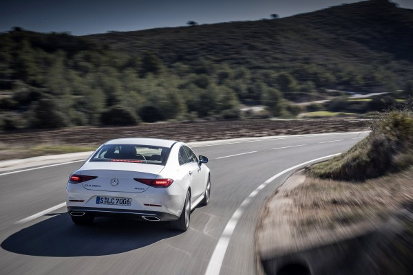 The CLS corners well but remains comfortable