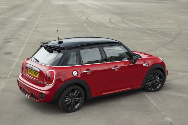 A contrast roof helps the 210 stand out from the crowd