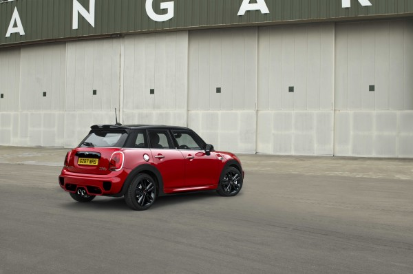 The five door makes for a more practical hot-hatch