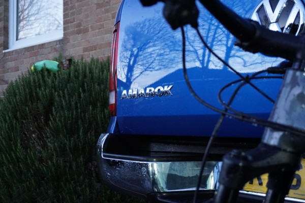 When it's cleaned up, the Amarok does look good