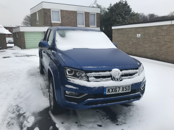Snow was little match for the Amarok