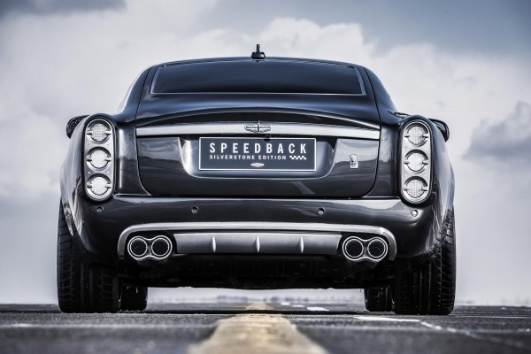 The Speedback Silverstone Edition features classic sports car styling