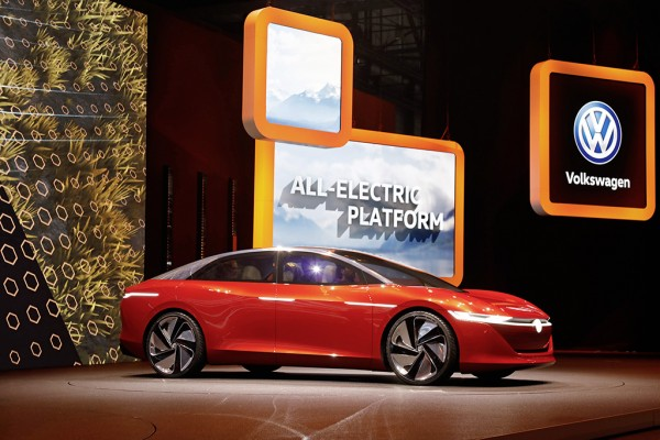 The I.D. Vizzion is the latest in Volkswagen's line of I.D. vehicles