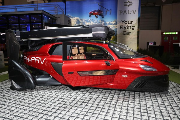 The PAL-V Liberty Flying car features two engines – one for use on the road and one for the air.